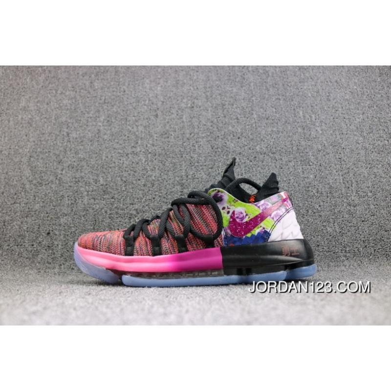 newest 22853 73745 Nike Zoom KD 10 Kevin Durant Ten Generations Basketball Shoes Men Shoes  Copuon